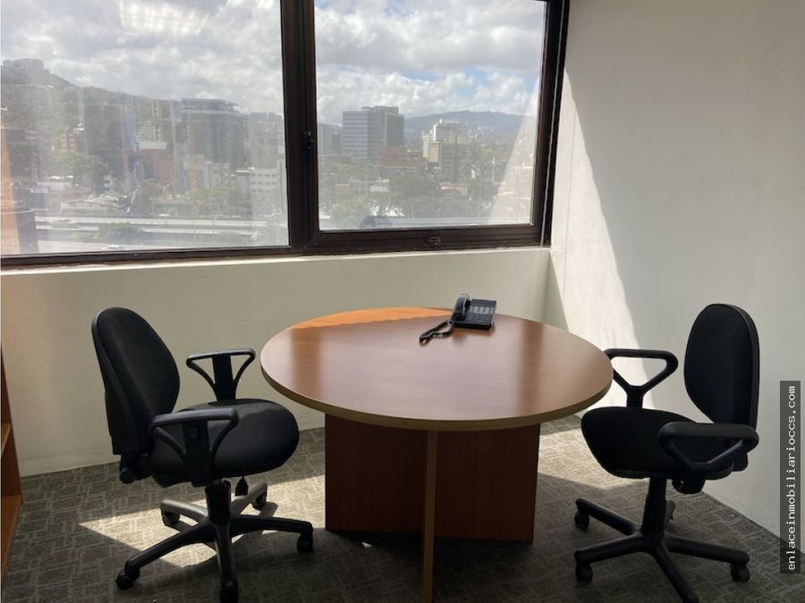 oficina ccct con o sin muebles 128 m2