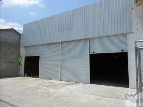alquilo bodega de 660 m2 en zona comercial de palmira