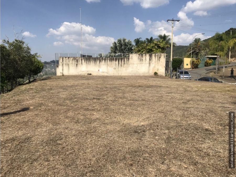 parcela de terreno residencial lomas de chispia
