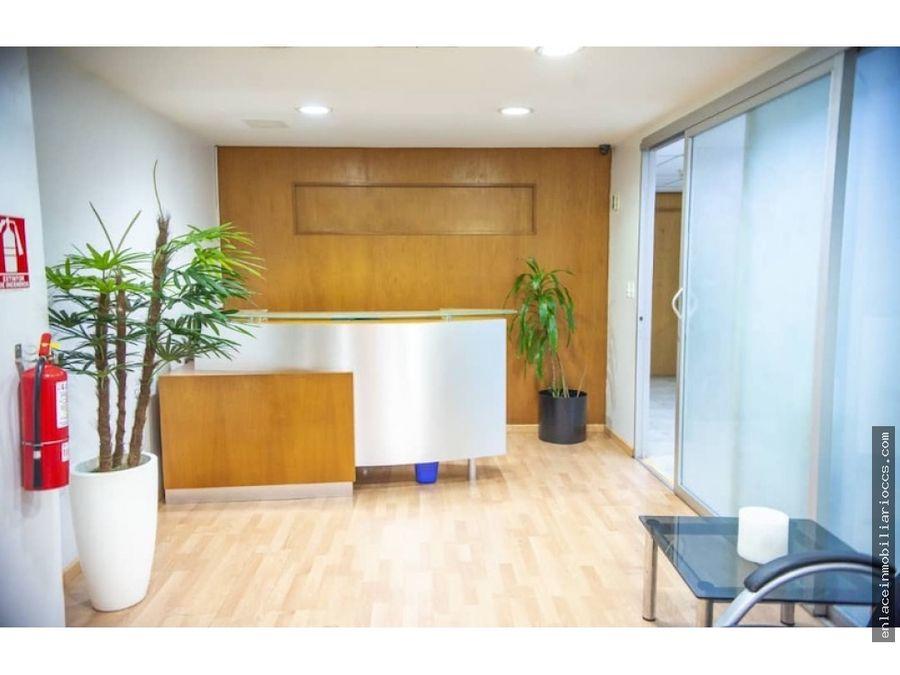 oficina los ruices 319 m2 amoblada