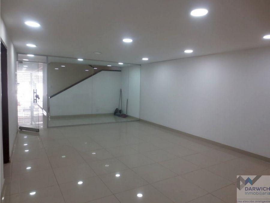 local con vivienda de 1 nivel 116 m2 en el centro de palmira