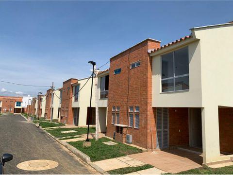 casa en venta en conjunto residencial en jamundi valle