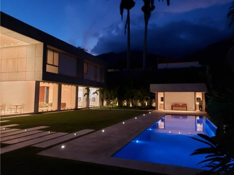 espectacular mansion a estrenar en country club