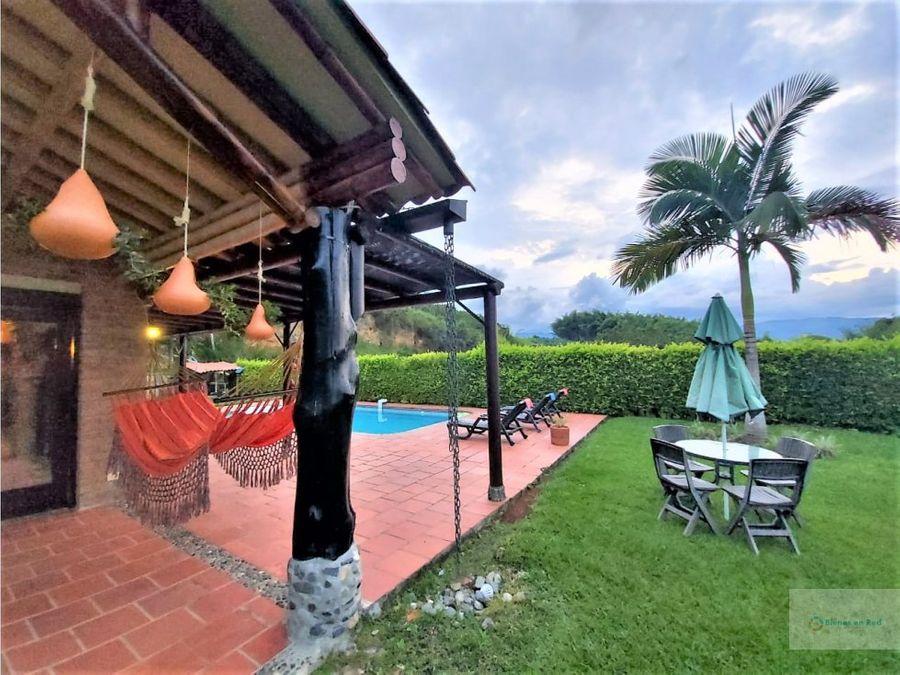 alquiler casa campestre en fincas panaca quimbaya quindio colombia