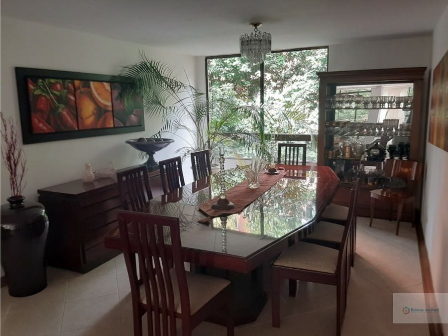 apartamento en venta el poblado sector el campestre