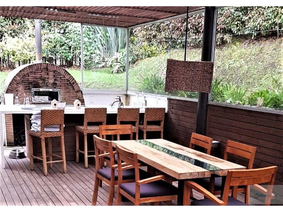 venta casa campestre con lote de 1900 m2 las palmas antioquia