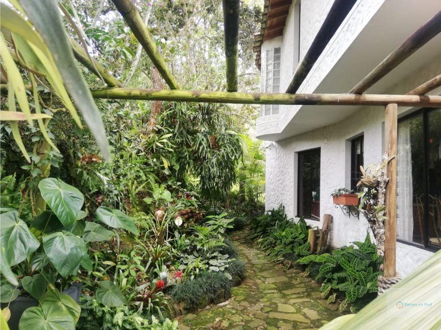 venta casa campestre copacabana