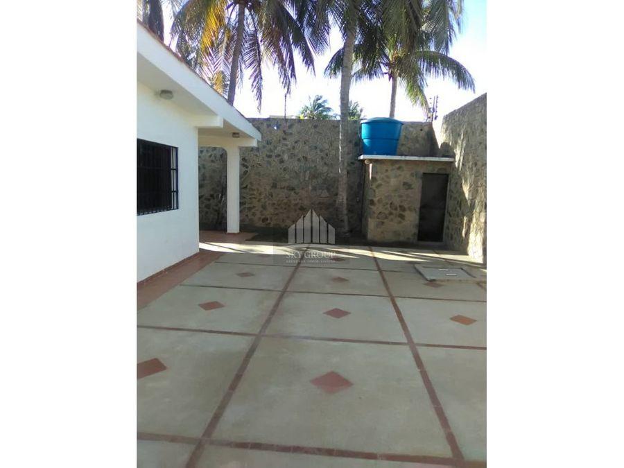 mac 633 casa en chichiriviche