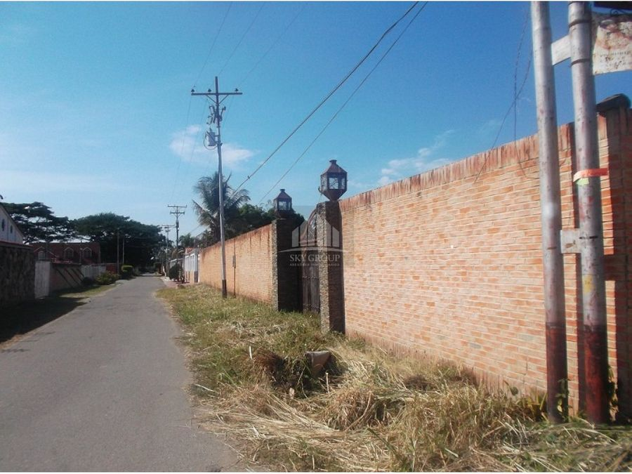 mat 142 terreno mini granjas las morochas