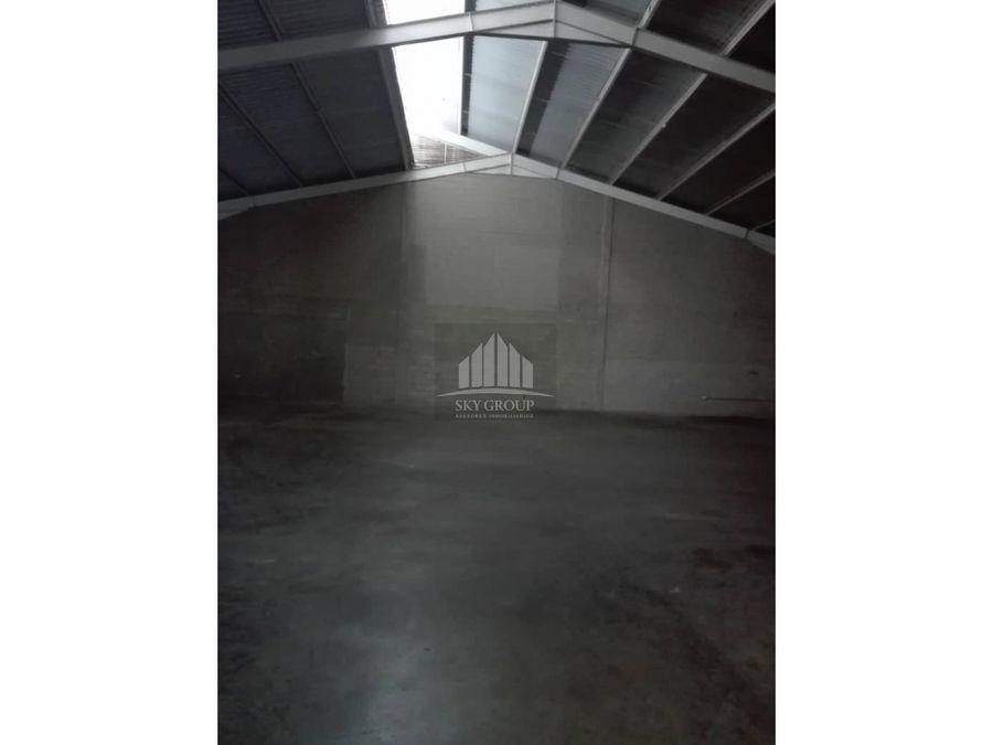 mag 47 galpon en zona industrial castillete