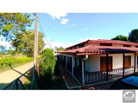 vendo casa campestre con lote de 3200 m2 en san marcos valle