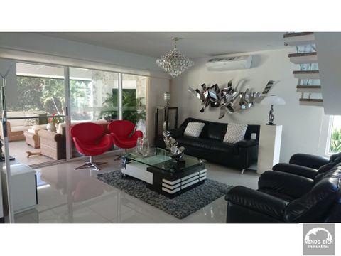 vendo hermosa casa en exclusivo condominio en sector pance sur de cali