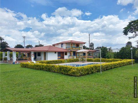 finca hotel en venta en montenegro q