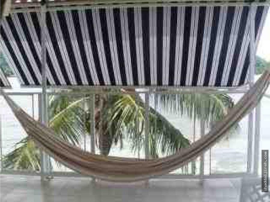 casa playa en isla grande ciudad de panama