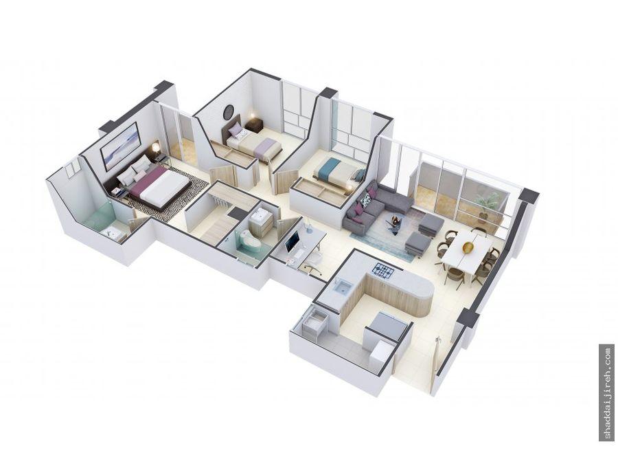 apartamento en venta en norte de armenia q
