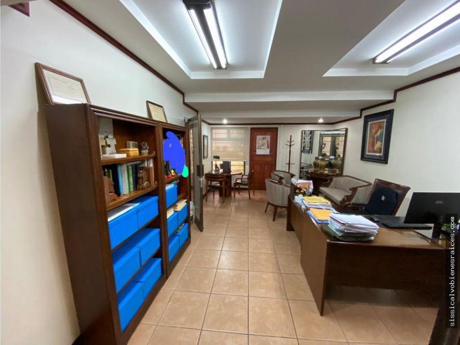 alquiler de casa para oficinas en sabana sur