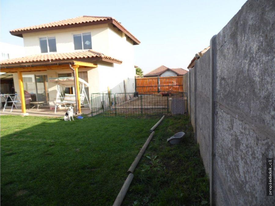 casa en venta en condominio el rodeo ayres de chicureo colina
