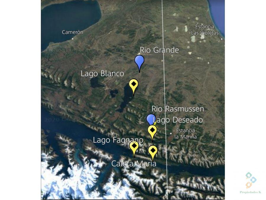 lote en la isla tierra del fuego patagonia cercano a lago fagnano