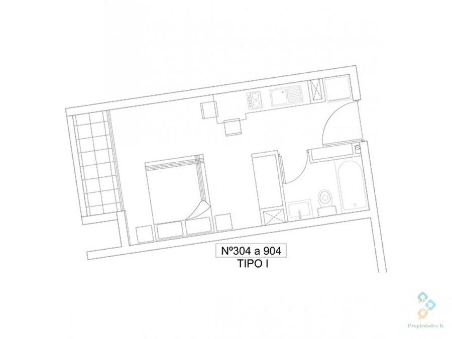 urban santiago oportunidad de inversion studio