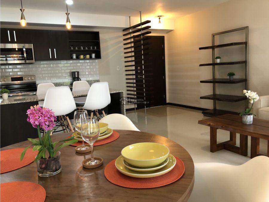 alquiler apartamento amoblado rio oro santa ana