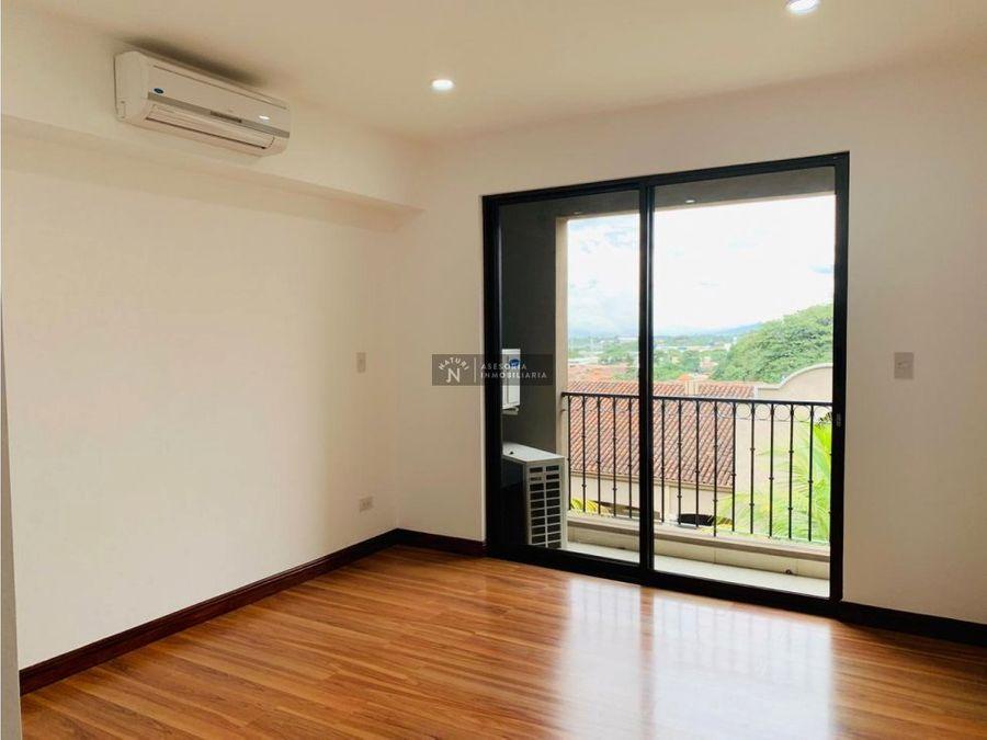venta de apartamento en pozos de santa ana