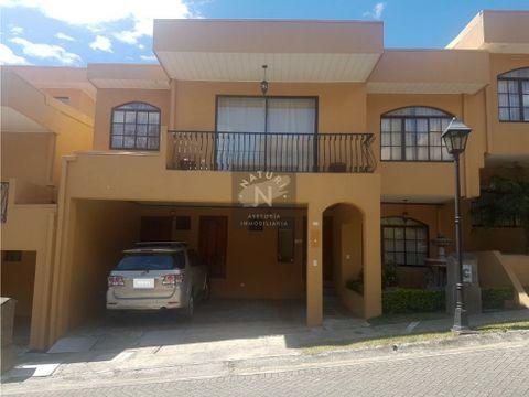 venta casa condominio balcones de la rivera en belen heredia