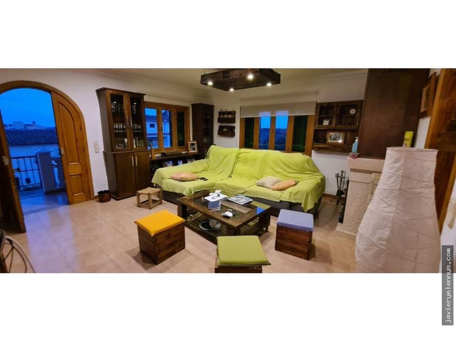 bonita casa con terraza tipo chatet en vilafranca de bonany