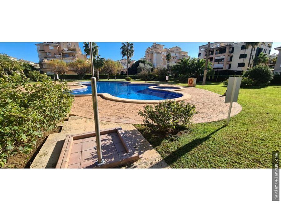 precioso apartamento con piscina y jardin en sa coma