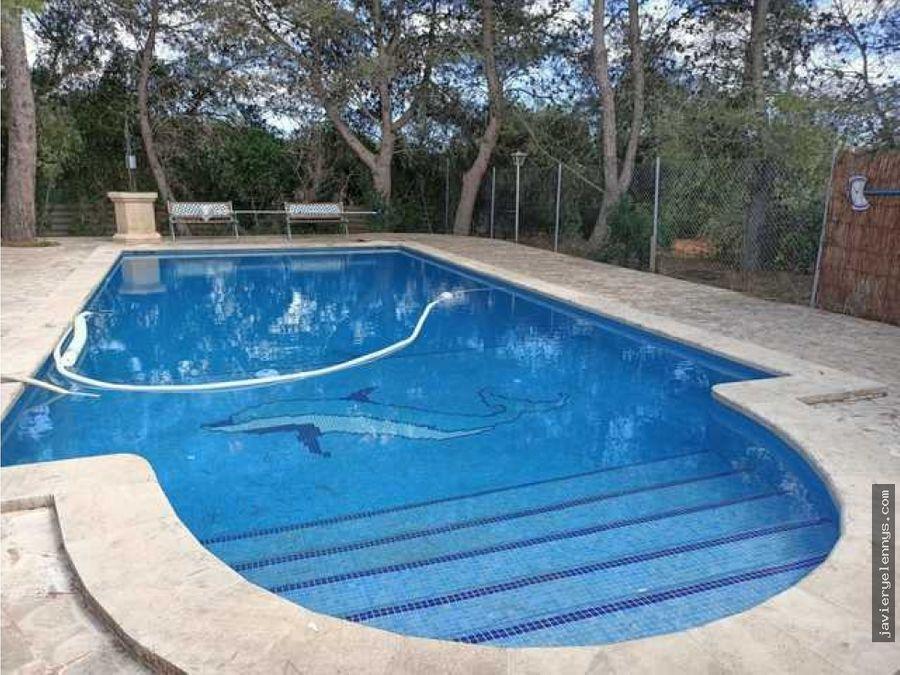 a 30 minutos de palma campos bonita casa de campo con piscina