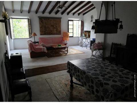 maravillosa casa mallorquina con 150m2 de patio felanix