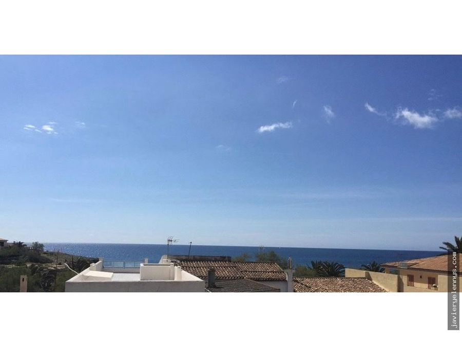 cala morlandasillot moderno piso techo libre a pocos metros del mar