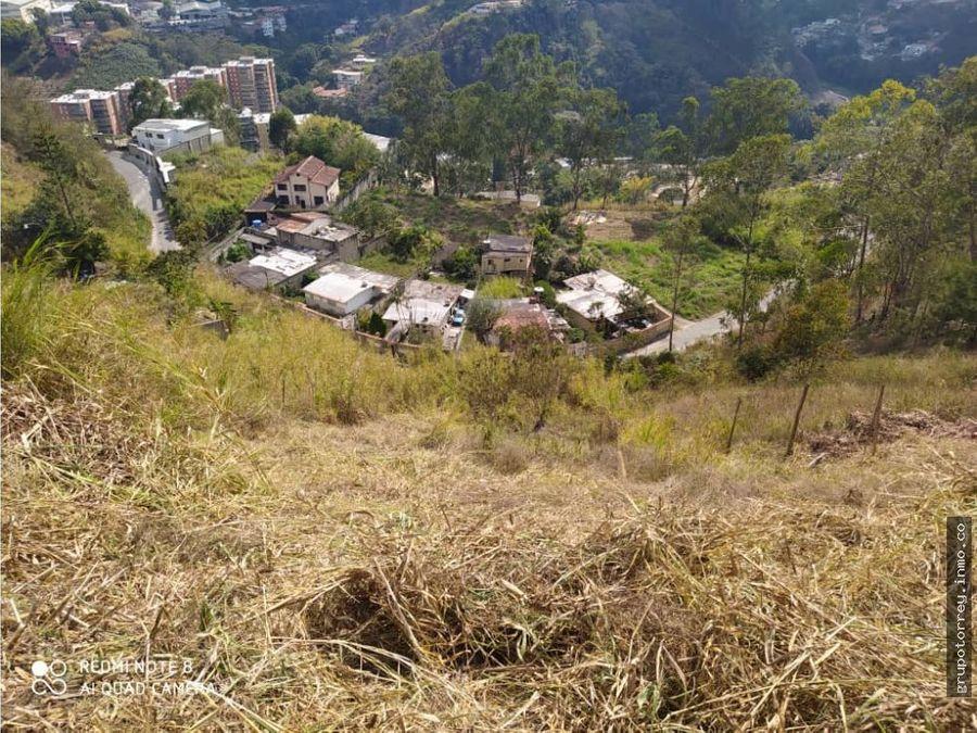 terreno sector merida colinas de carrizal