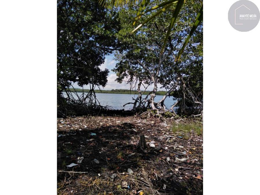 terreno en venta en bahia de amatique mar caribe
