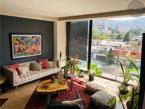 apartamento en renta en edificio avenik zona 15
