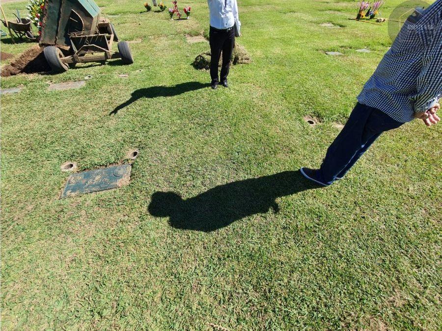 venta de terreno en cementerio las flores