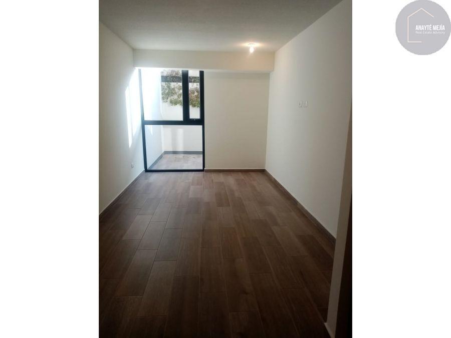 apartamento en renta en aralia zona 11
