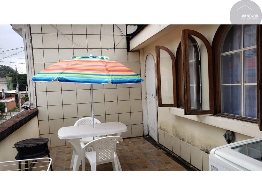 se renta apartamento villa sol zona 12