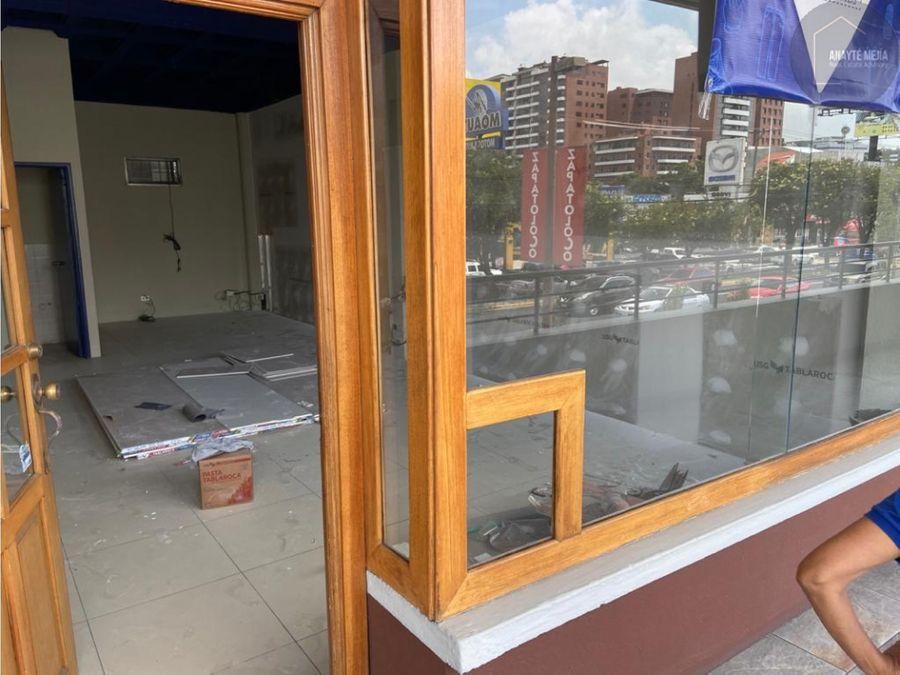 local en renta en plaza la villa zona 10