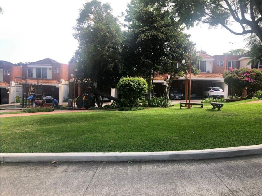 casa en alquiler en jardines rosario de san isidro