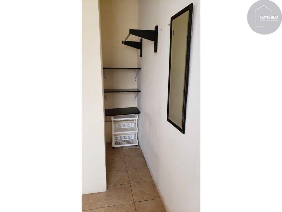 se renta apartamento de una habitacion en villa sol zona 12
