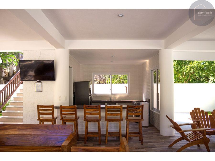 casa de playa en renta en monterrico