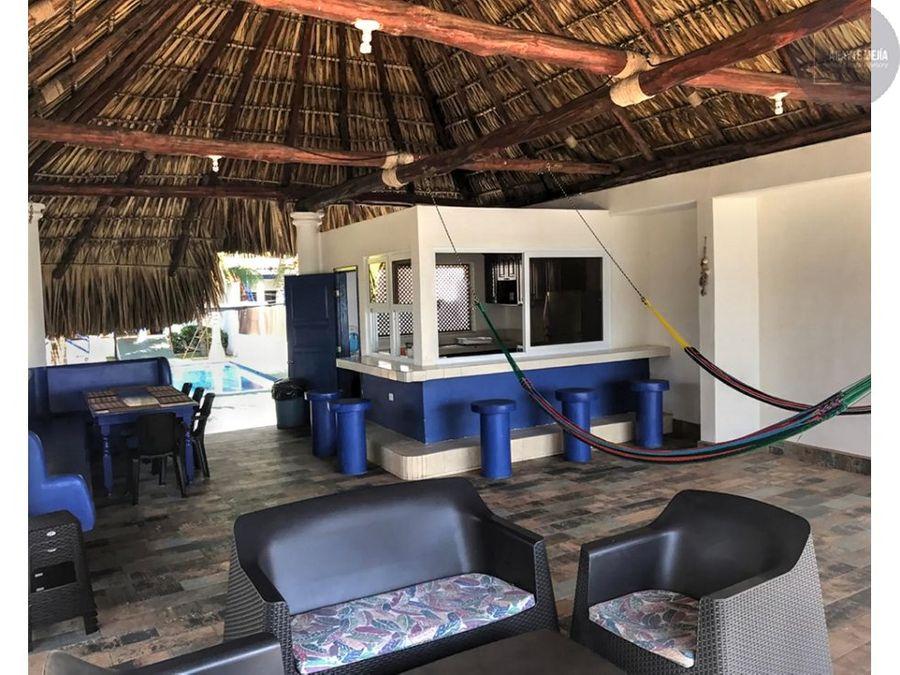 casa vacacional en renta en monterrico