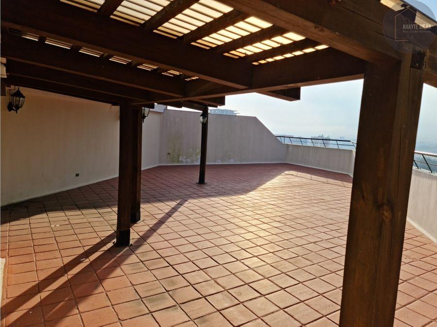 penthouse condominio las mercedes zona 14