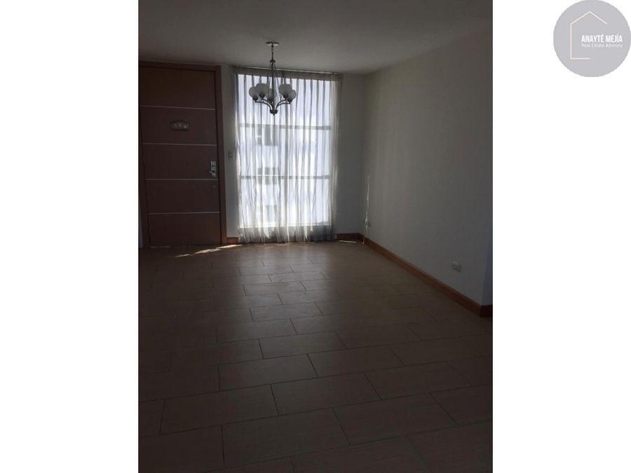 apartamento en renta en condado la villa zona 14