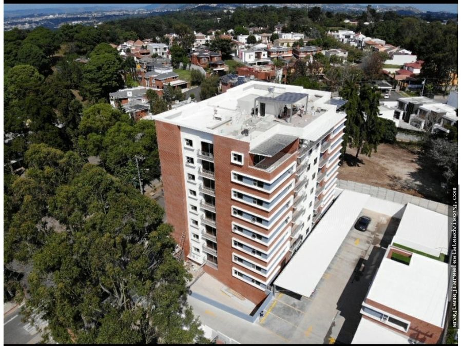 venta de penthouse edificio altture zona 16 kanajuyu