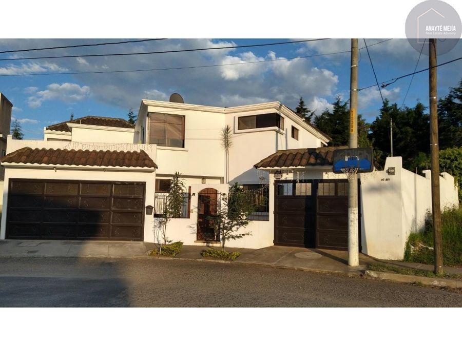 casa en venta hacienda real zona 16