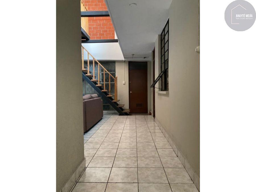 apartamento en renta en zona 7