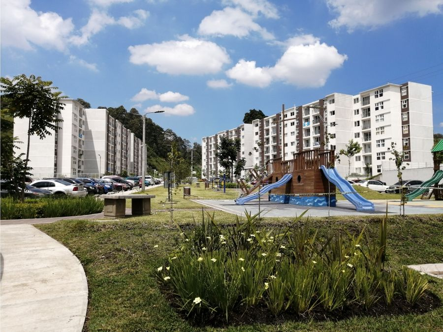 apartamento en renta condominio entre valles el frutal villa nueva