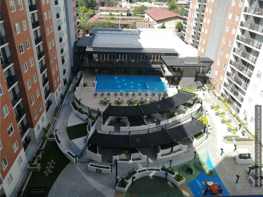 apartamento a la venta en parque 11 club residencial zona 11