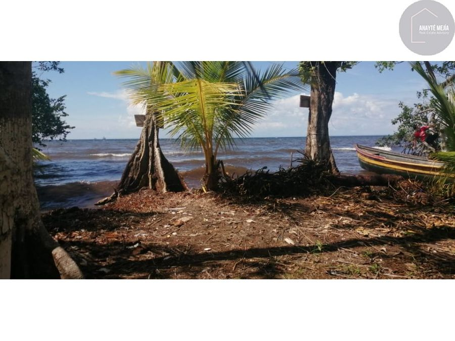terreno en venta en mar caribe del lado de amatique bay izabal